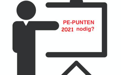 PE – Punten KIWA & PBI 2021